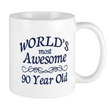 Awesome 90 Year Old Mug