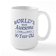 Awesome 90 Year Old Mug