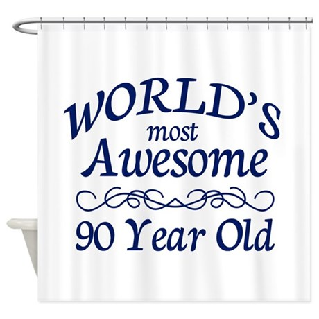 Awesome 90 Year Old Shower Curtain