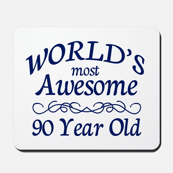 Awesome 90 Year Old Mousepad