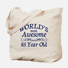 Awesome 85 Year Old Tote Bag