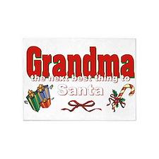 Grandma, the next best thing to Santa 5'x7'Area Ru