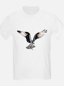 Hunting osprey Kids T-Shirt