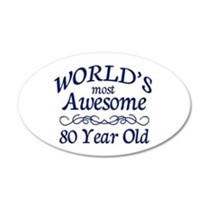 Awesome 80 Year Old Wall Decal