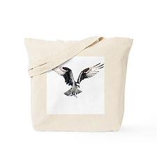 Hunting osprey Tote Bag