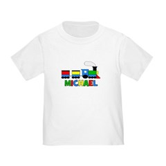 TRAIN_Michael.png Toddler T-Shirt