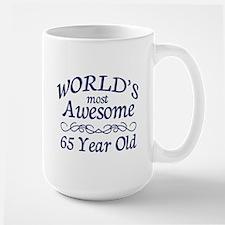 Awesome 65 Year Old Mug
