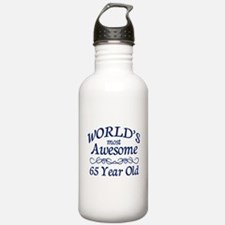 Awesome 65 Year Old Water Bottle