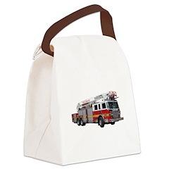 firetruck2.png Canvas Lunch Bag
