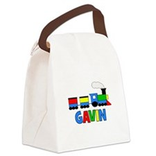 TRAIN_Gavin.png Canvas Lunch Bag