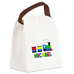 TRAIN_Michael.png Canvas Lunch Bag