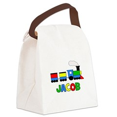 TRAIN_Jacob.png Canvas Lunch Bag