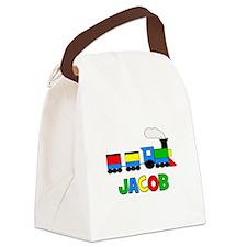 TRAIN_Jacob.png Canvas Lunch Bag