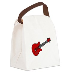 guitar_TR.png Canvas Lunch Bag