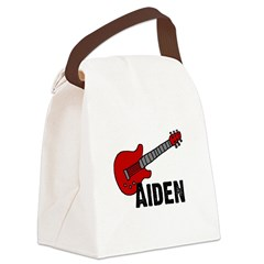 guitar_aiden.jpg Canvas Lunch Bag