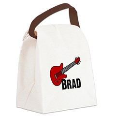 guitar_brad.png Canvas Lunch Bag