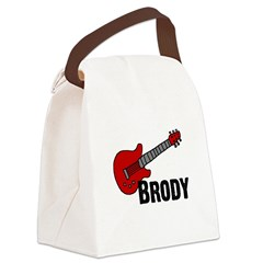 guitar_brody.png Canvas Lunch Bag