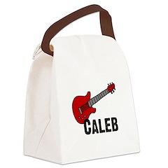 guitar_caleb.jpg Canvas Lunch Bag