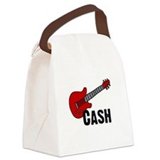 guitar_cash.png Canvas Lunch Bag