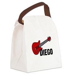 guitar_diego.png Canvas Lunch Bag