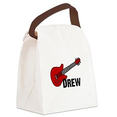 guitar_drew.png Canvas Lunch Bag