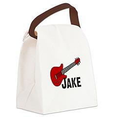 guitar_jake.jpg Canvas Lunch Bag