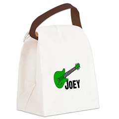 greenguitar_joey.png Canvas Lunch Bag