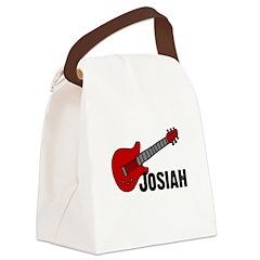 guitar_josiah.png Canvas Lunch Bag