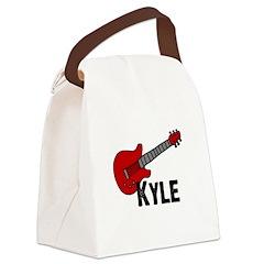 guitar_kyle.jpg Canvas Lunch Bag