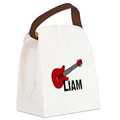 guitar_liam.jpg Canvas Lunch Bag