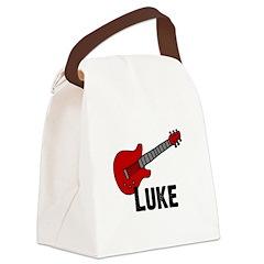 guitar_luke.jpg Canvas Lunch Bag