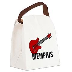3-guitar_memphis.png Canvas Lunch Bag