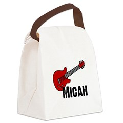guitar_micah.jpg Canvas Lunch Bag