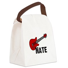 guitar_nate.jpg Canvas Lunch Bag