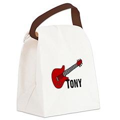 guitar_tony.jpg Canvas Lunch Bag