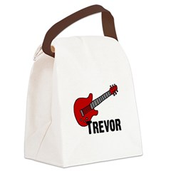 guitar_trevor.jpg Canvas Lunch Bag