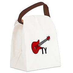 guitar_ty.jpg Canvas Lunch Bag