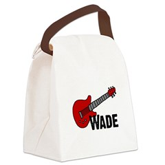 guitar_wade.png Canvas Lunch Bag
