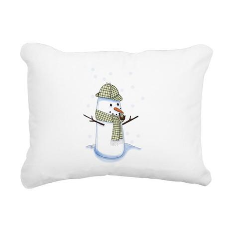 Showlock Rectangular Canvas Pillow