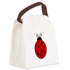 ladybug_png.png Canvas Lunch Bag