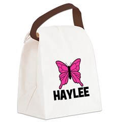 butterfly_HAYLEE.jpg Canvas Lunch Bag
