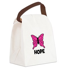 butterfly_HOPE.jpg Canvas Lunch Bag