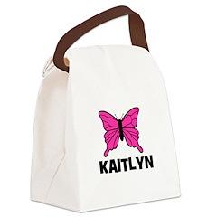 butterfly_KAITLYN.jpg Canvas Lunch Bag