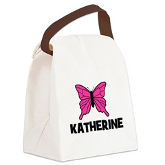 butterfly_KATHERINE.jpg Canvas Lunch Bag