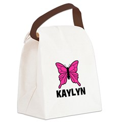 butterfly_KAYLYN.jpg Canvas Lunch Bag