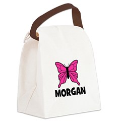 butterfly_MORGAN.jpg Canvas Lunch Bag