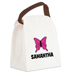 butterfly_SAMANTHA.jpg Canvas Lunch Bag