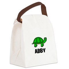 greenturtle_ABBY_TR.png Canvas Lunch Bag