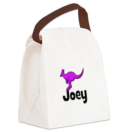 kangaroo_purple_JOEY.png Canvas Lunch Bag
