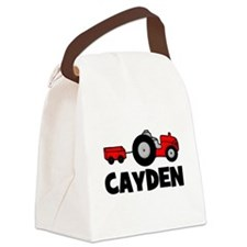 tractor_cayden.psp Canvas Lunch Bag